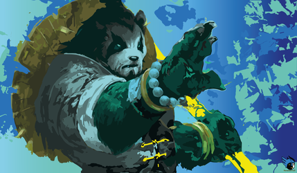 Mist of Pandaria WOW fan art. by Kenawesomez