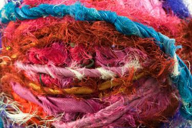 Sari Yarn Texture 3 by joannastar-stock