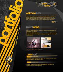 Portfolio design v1 by ashbridger