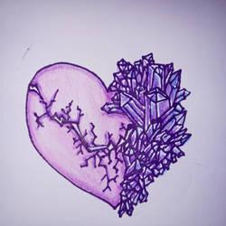 crystal hearts by skullzhead