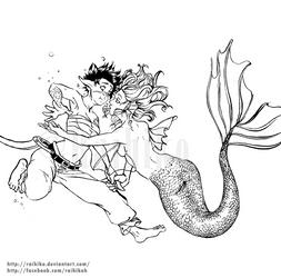 Under the sea by Raihiko