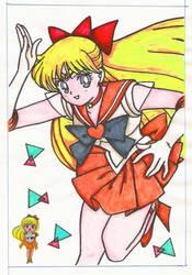 SailorVenus by Minako9