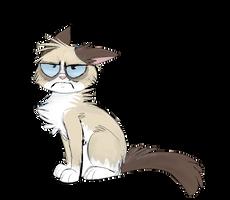 Grumpy Cat by namiwami