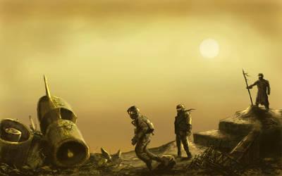 Salvage scavengers pt 1 by derbz