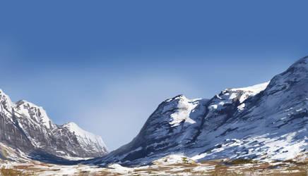 Ref study - Glen Coe Scotland by derbz