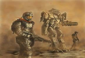 Martian Ranger Scout Class by derbz