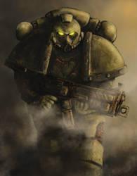 Plague Marine ( W40K ) by derbz