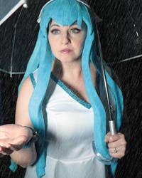 Squid Girl in the Rain by Elentari-Liv