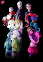 Glitchtale Season 2 Poster (not for sale though) by CamilaAnims