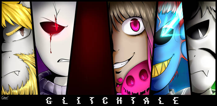 Glitchtale Poster! by CamilaAnims