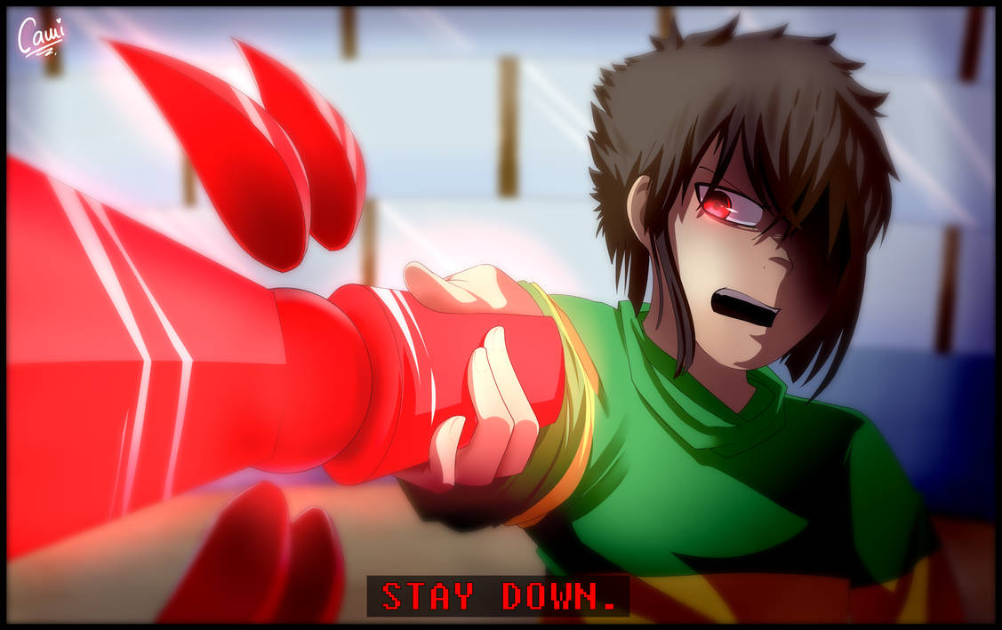 STAY DOWN | Screenshot Redraw by CamilaAnims
