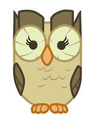 Aloysius - MLP FIM Owl by lilaurenthys