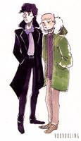 Sherlock Doodle 1 by VooDooling