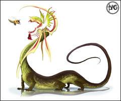 COW: Floridacapitis tentaculat by GuthrieArtwork