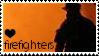 Firefighter Stamp by saskya