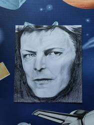 David Bowie by LuckyFunderberker