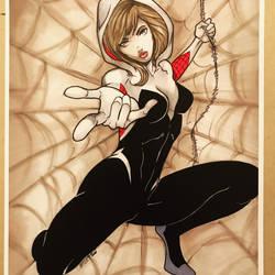 Spider Gwen original Art! by martheus