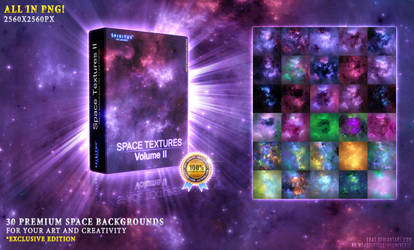 30 PREMIUM SPACE TEXTURES II - PACK 32 by ERA7