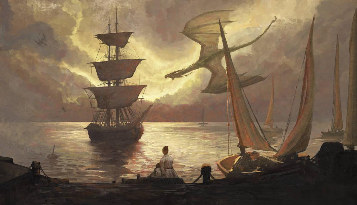 +Dragon Harbor+ by ERA7