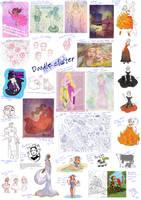 Massive doodlecluster 7 by Morloth88