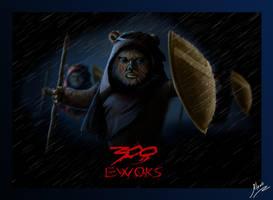 300 Ewoks by Vasilis-Kun
