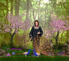 Goddess Gnewi by Arlesienne