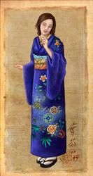 Moonblossom in Kimono by tiranaki
