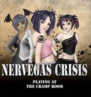 Nervegas Crisis -Poster by tiranaki