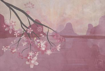 Sunset Blooms by tiranaki