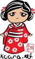 Kimono Girl for Koana.net by tiranaki