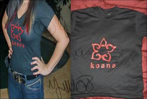 Koana: Logo T-shirt by tiranaki