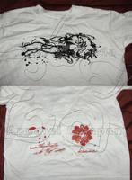 Hibiscus Grunge shirt view by tiranaki