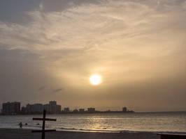 Isla Verde Sunset by tiranaki
