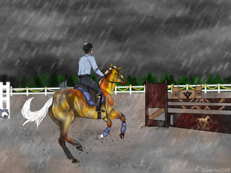 GES Youngster's Show   We run in the rain by Libertas268