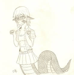Lamia 11 by Solo90