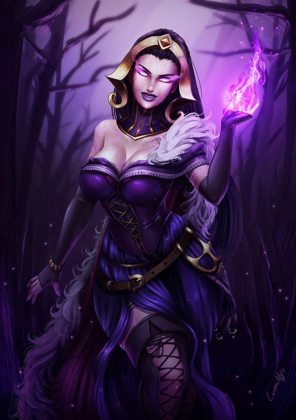 Download Another Liliana Vess - Magic The Gathering