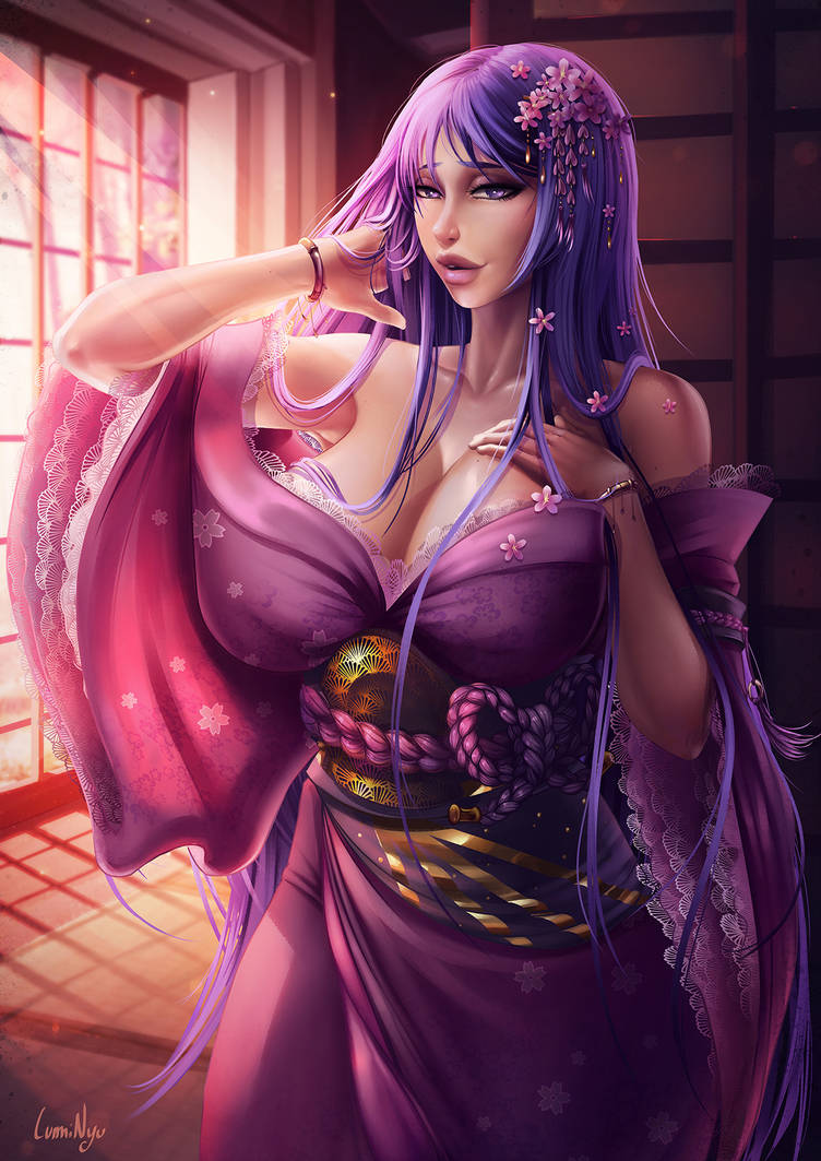 Minamoto No Raikou by LumiNyu