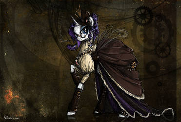 Steampunk Rarity by NastyLady