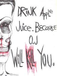 Drink apple juice. by Ralph-The-Unicorn
