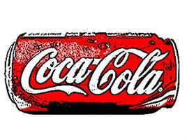 pop art coca cola. by iheartgeorgesampson