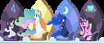 Princesses by punzil504