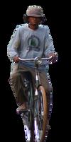 human dan sepeda ontel by andhikazanuar