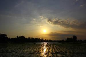 sunset sky by andhikazanuar