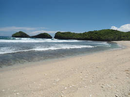 sand beach by andhikazanuar