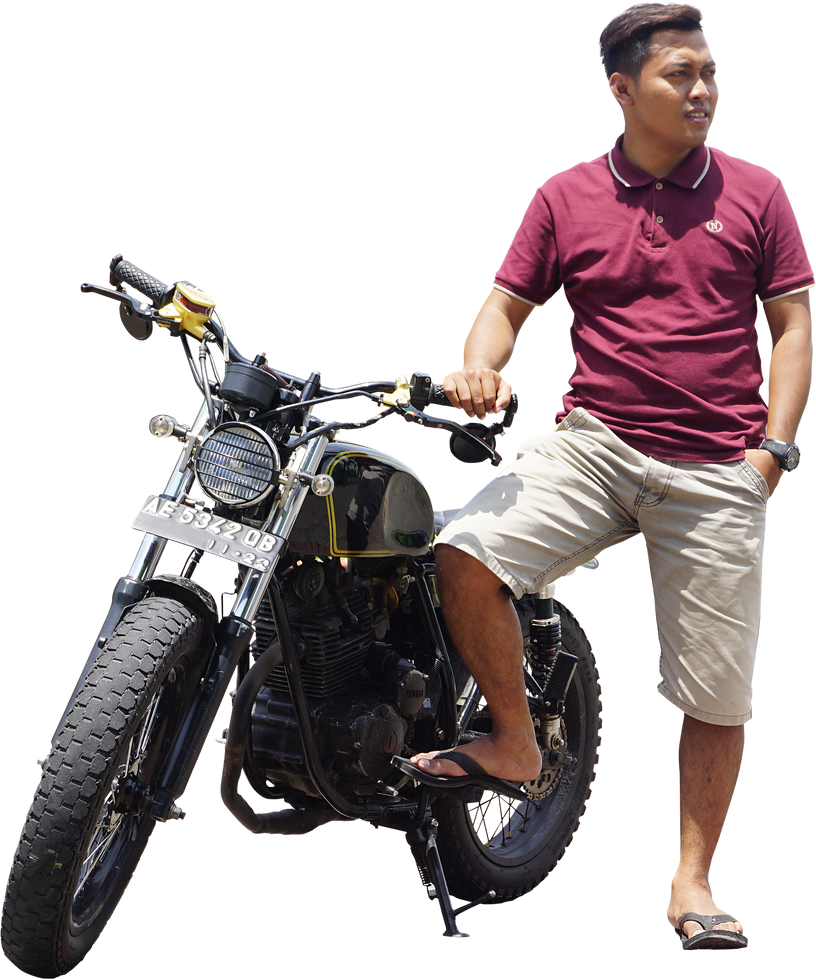 japstyle rider PNG by andhikazanuar