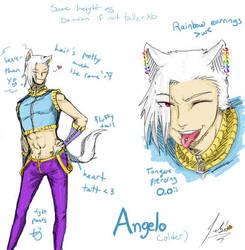Adult Angie ref sheet by RastaPickney-Juls