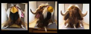 Moonkin custom Hoodie Hat by MissRaptor