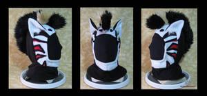 Custom Liger Zero Hoodie Hat by MissRaptor