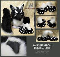 Yamato Okami partial suit by MissRaptor