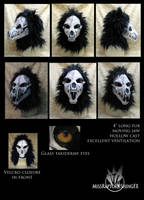 Resin canine skull mask SOLD by MissRaptor